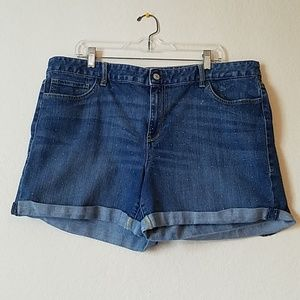 Tommy Hilfiger Dotted Jean Shorts